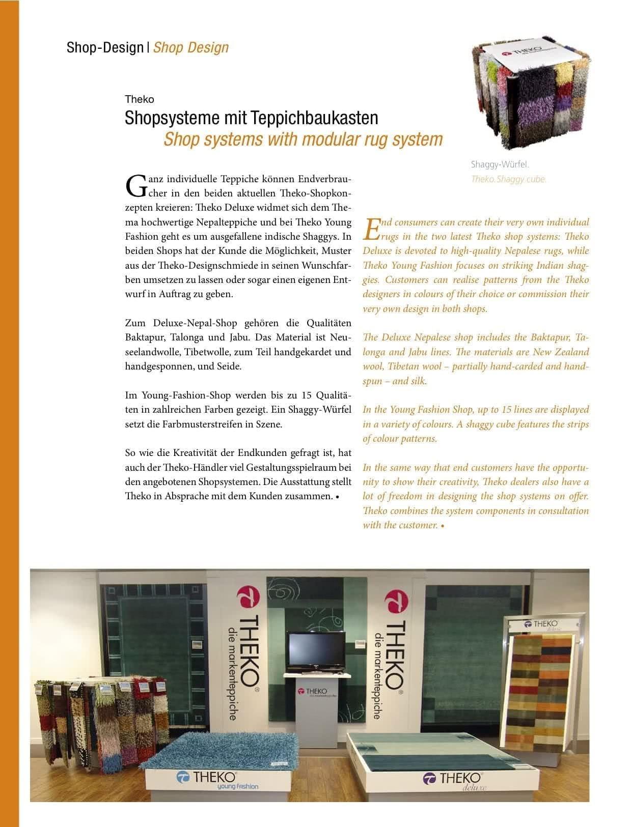 Shopsysteme mit Teppichbaukasten