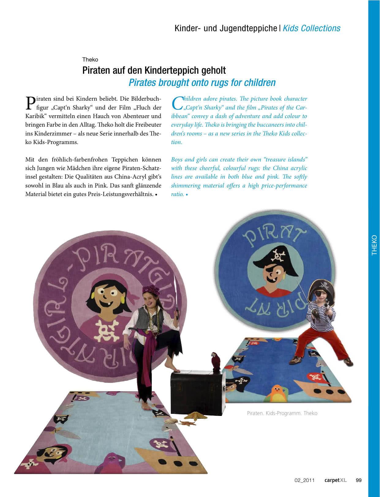 Piraten auf den Kinderteppich geholt