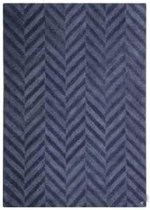 Country zigzag blue
