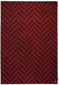 Country zigzag red